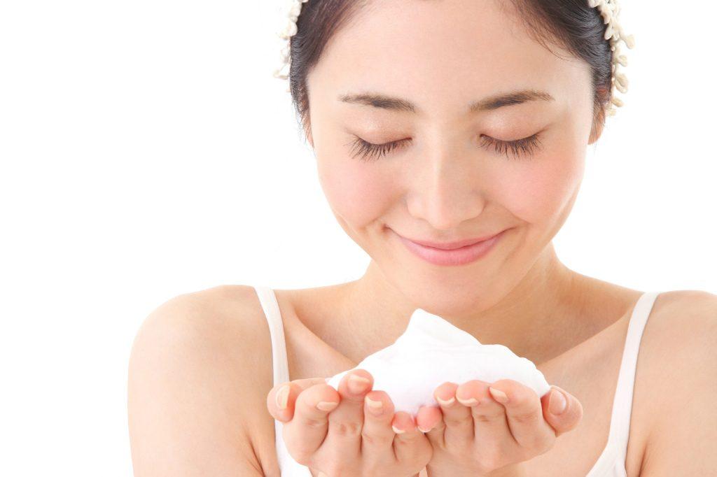 画像4:正しい洗顔