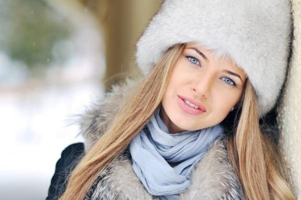 ロシアの白人女性