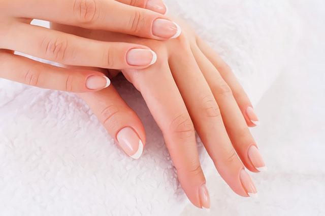 美しい素爪
