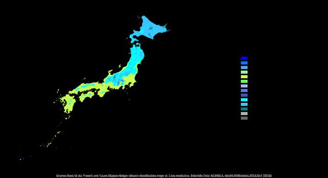 日本の気候区分