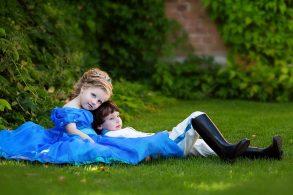 小さなお姫様と王子様