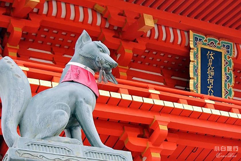 赤い神社とお稲荷様