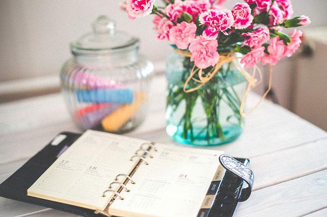 手帳型の日記