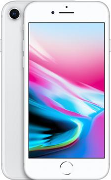 iPhone 8(シルバー)
