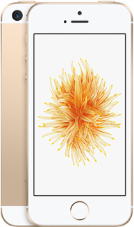 iPhone SE(ゴールド)