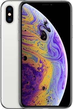 iPhone XS(シルバー)