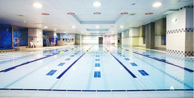 コナミスポーツクラブ渋谷店のプール