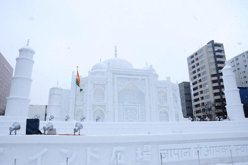 さっぽろ雪祭り2012
