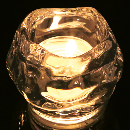 キャンドルホルダー(ガラス)