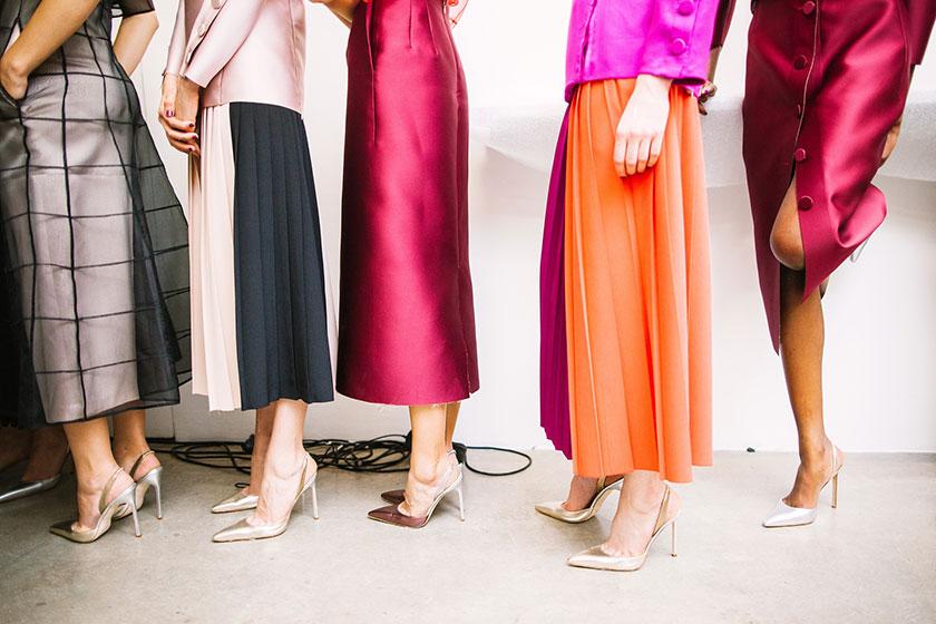 様々なロングスカート