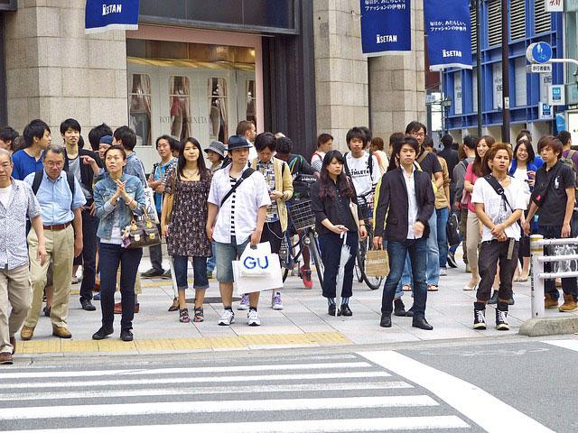新宿の交差点