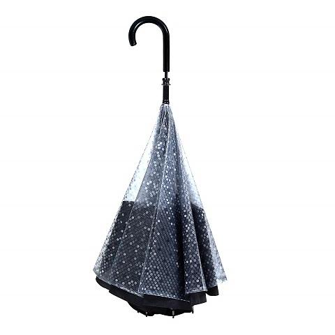 逆さ傘(逆折り式傘)